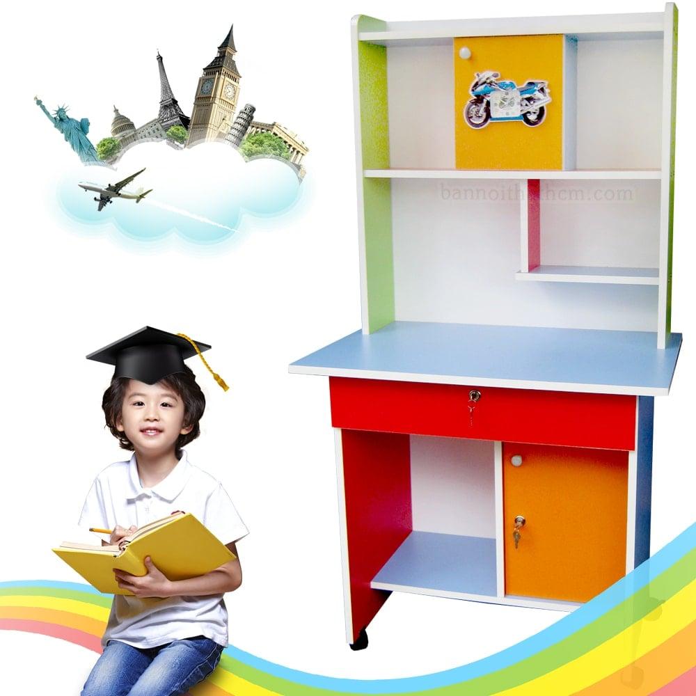 bàn học sinh có giá sách giá rẻ