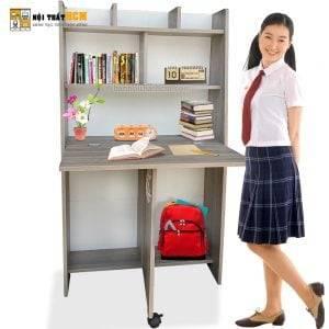 bàn học sinh xếp gọn