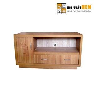 kệ tivi gỗ trong phòng ngủ