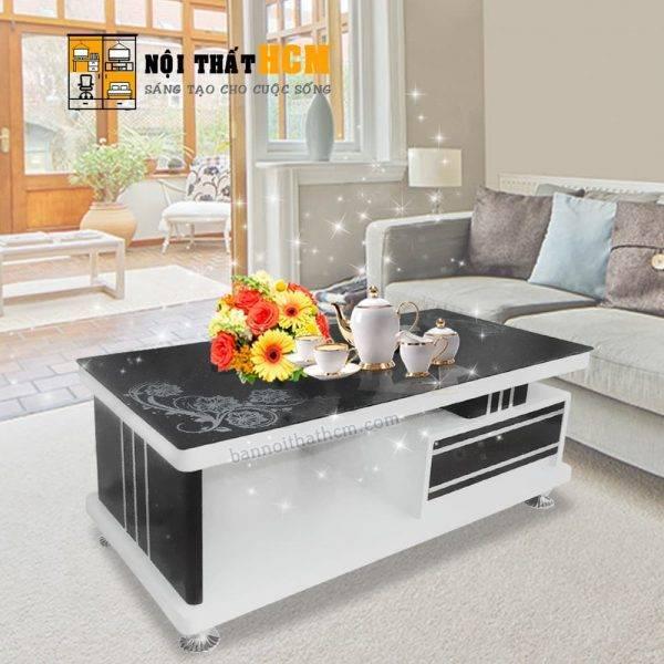 mẫu bàn trà sofa đẹp hiện đại
