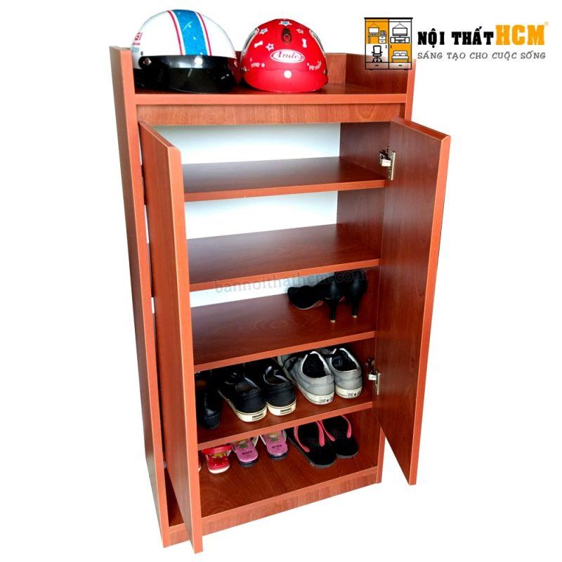 tủ để giày gỗ công nghiệp giá rẻ