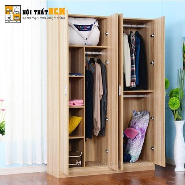 tủ gỗ đựng quần áo