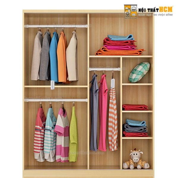tủ gỗ quần áo