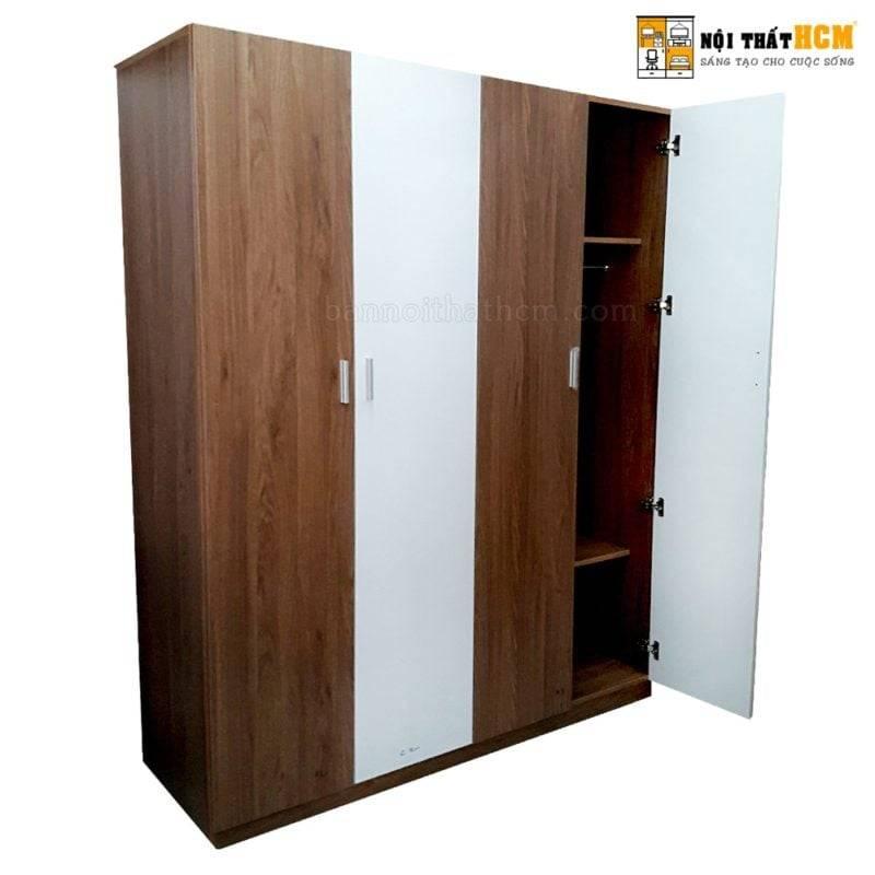 tủ áo gỗ công nghiệp giá rẻ tphcm