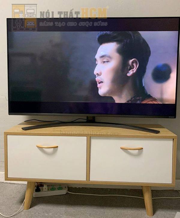mẫu kệ tivi đơn giản đẹp