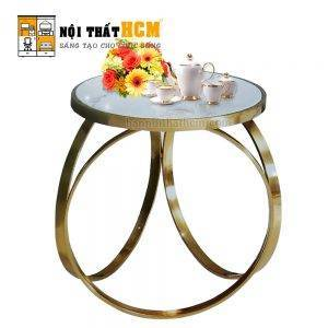 bàn salon tròn hiện đại