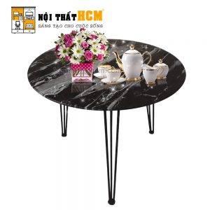 mẫu bàn trà sofa tròn đẹp hiện đại